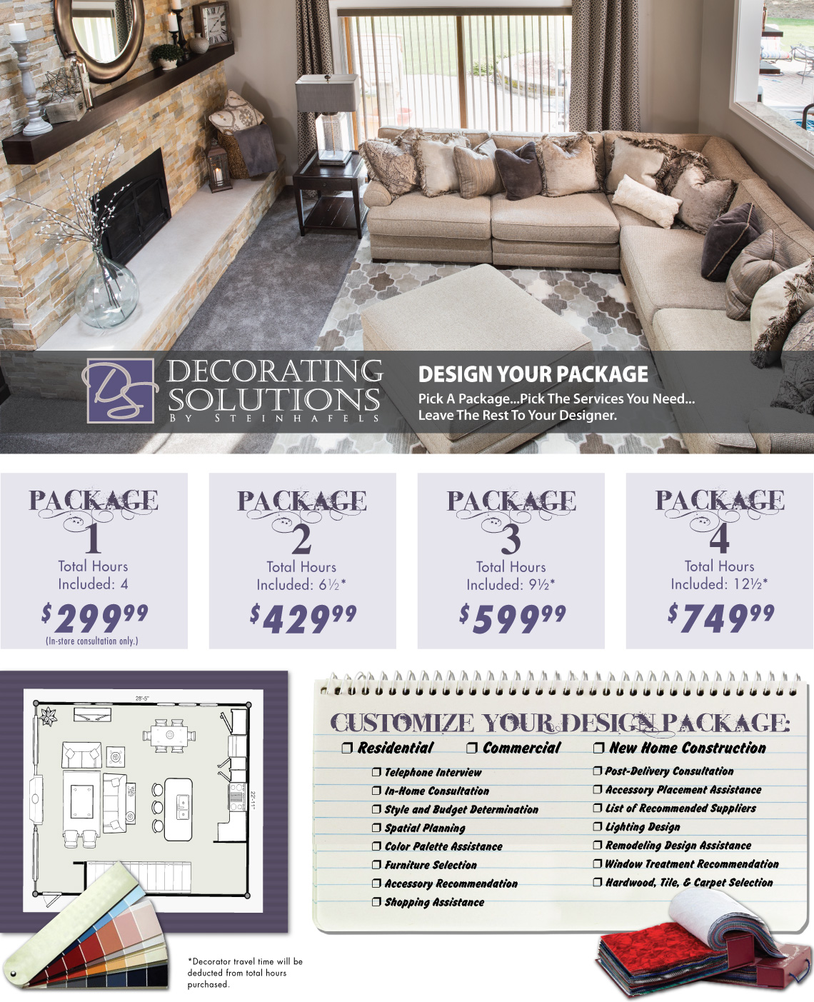 Decorating Solution Choose Your Package
