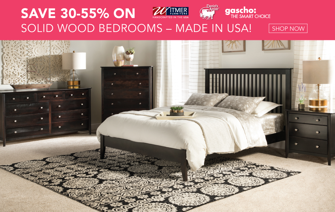 Solid Wood Bedroom