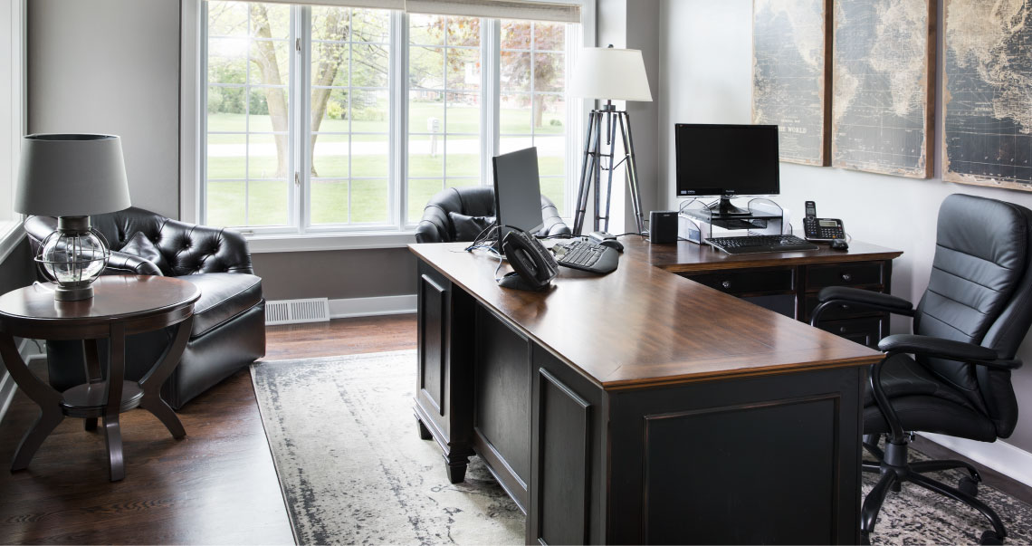 Exceptional Office. HOME OFFICE Landing Page