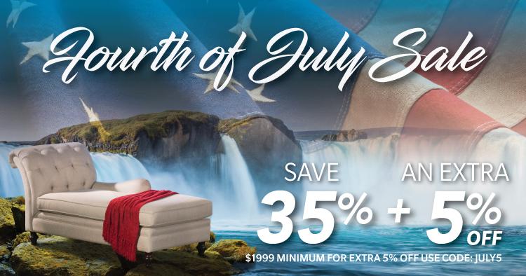 Superbe July 4 Sale