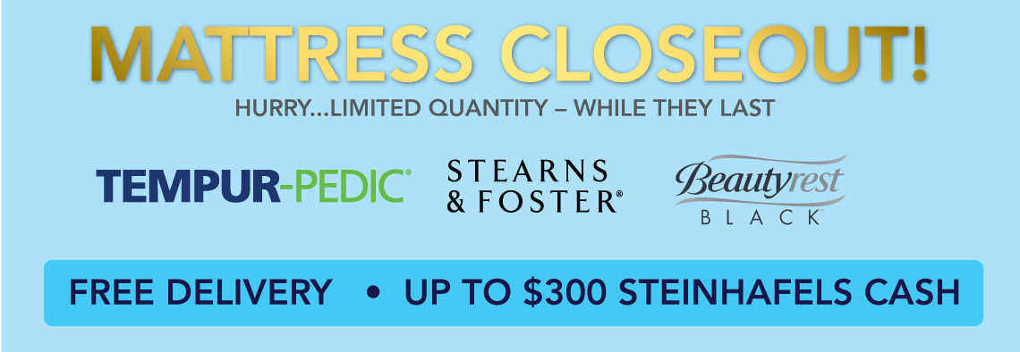 Superior Steinhafels Appliances Part - 9: Mattress Closeout