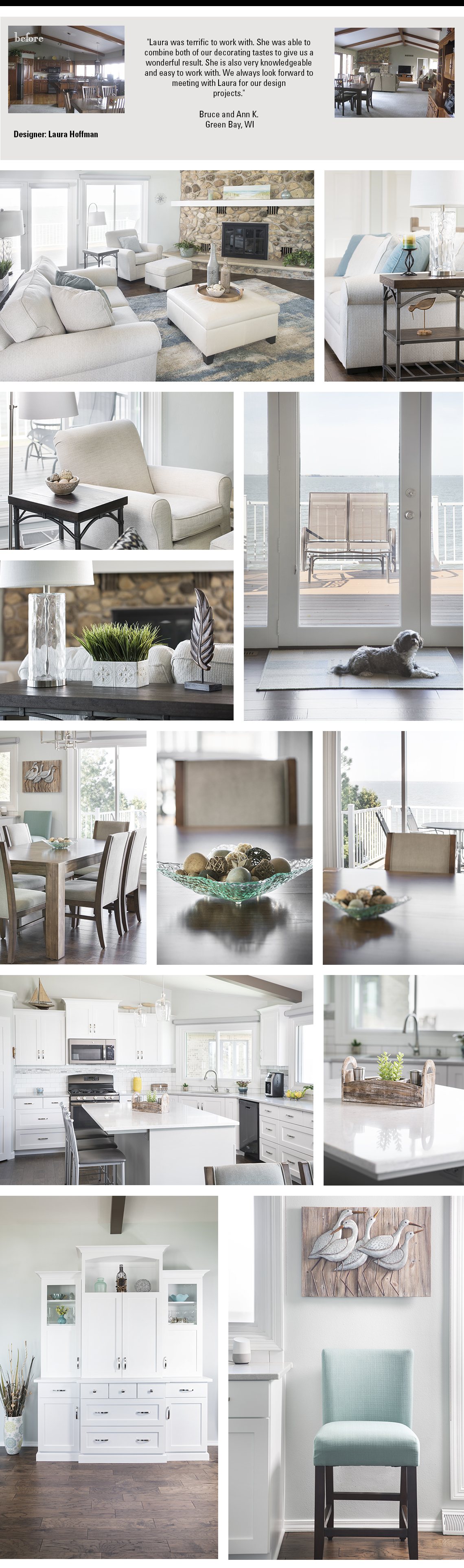 Steinhafels - Decorating Solutions - Before & Afters