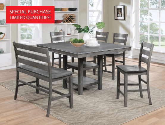 6-Piece Dining Set $499