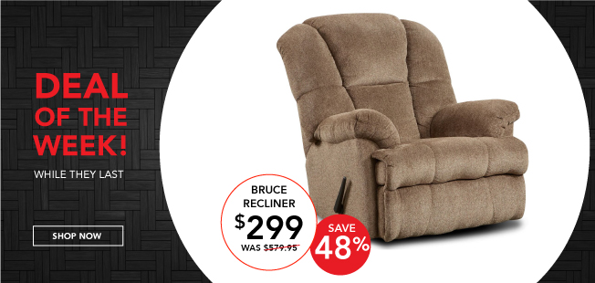 Deal Of The Week Recliner