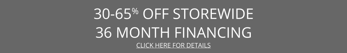 30-65% off with 36 month finance