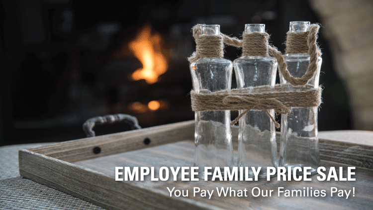 Employee Family Price Sale