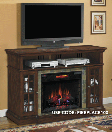 Save up to 50% on Fireplaces